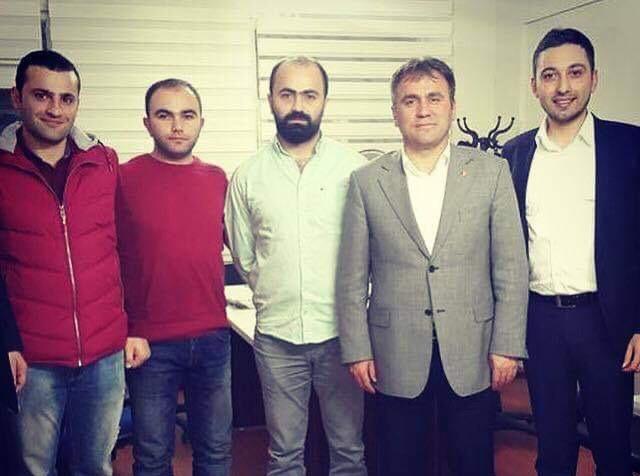 Belediye Başkanı Ercan Çimen Ziyareti