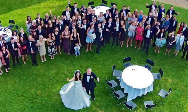 Düğünlerde Drone İle Havdan Çekim