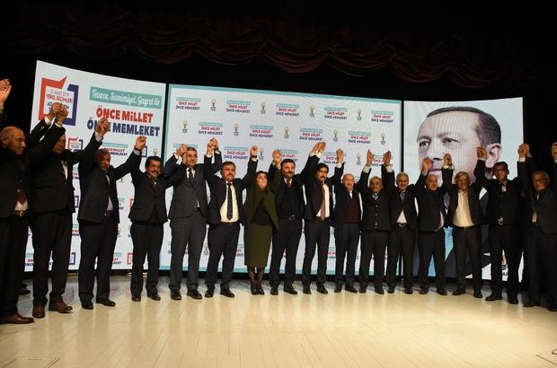 AK Parti Gümüşhane Tanıtım Toplantısı